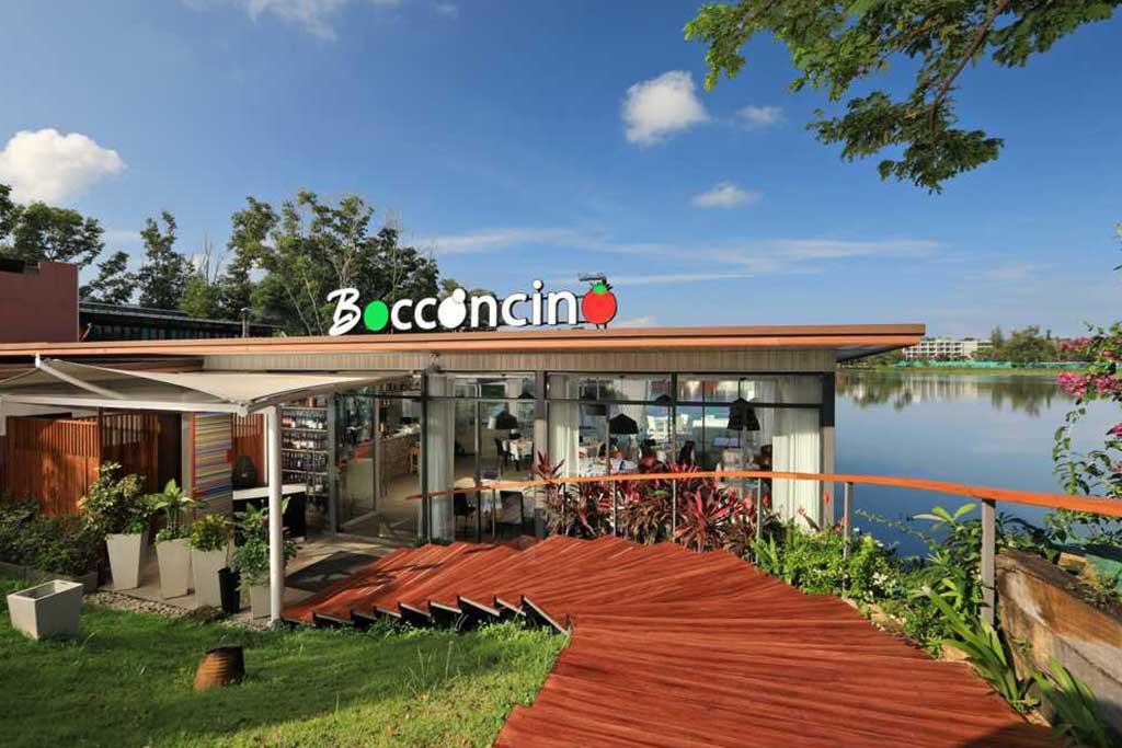 Bocconcino Italian Restaurant Boat Evenue Phuket Thailand 7